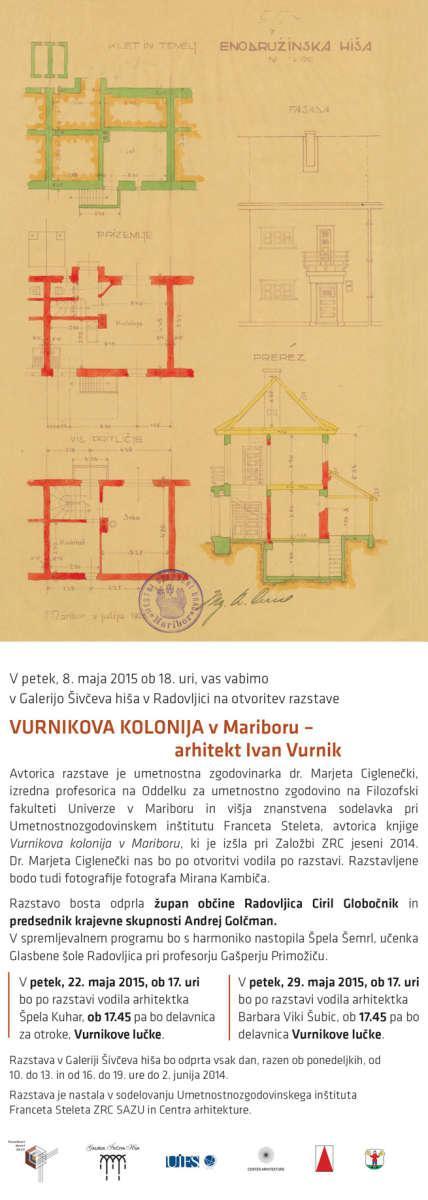 VURNIKOVA KOLONIJA v Mariboru - arhitekt Ivan Vurnik