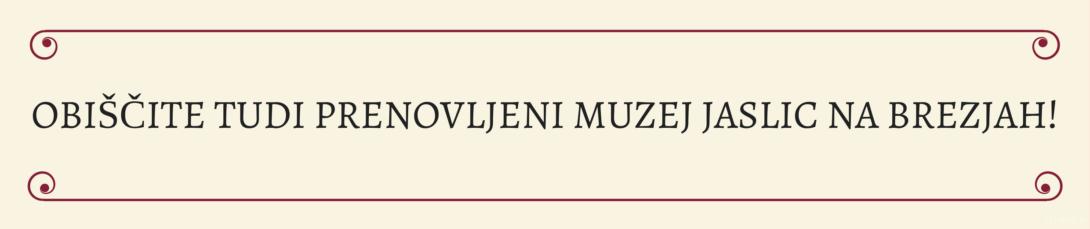 Prenovljeni Muzej jaslic na Brezjah