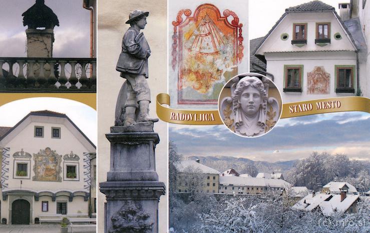 Mestni muzej išče stare razglednice iz Radovljice in okolice