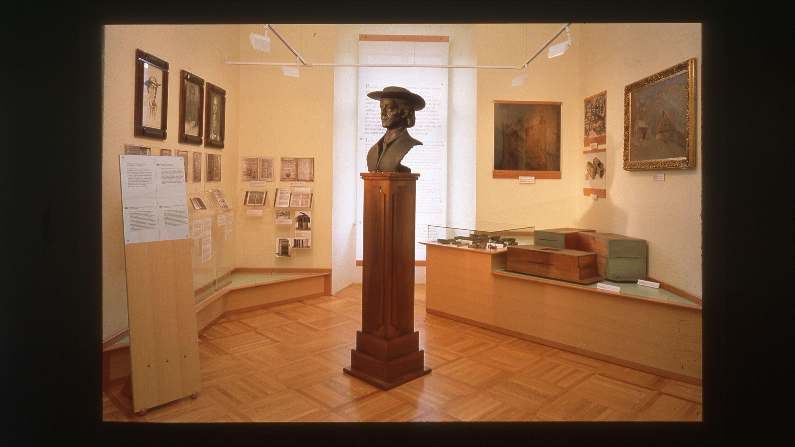 Doprsni kip Antona Janše.